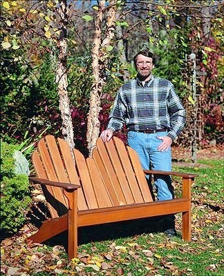 Adirondack Loveseat - The New Yankee Workshop